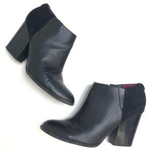 Tommy Hilfiger | Black Bootie Heel